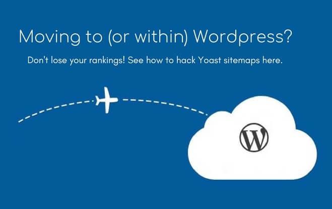Wordpress migration SEO: